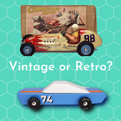 What's the difference between Vintage and Retro?