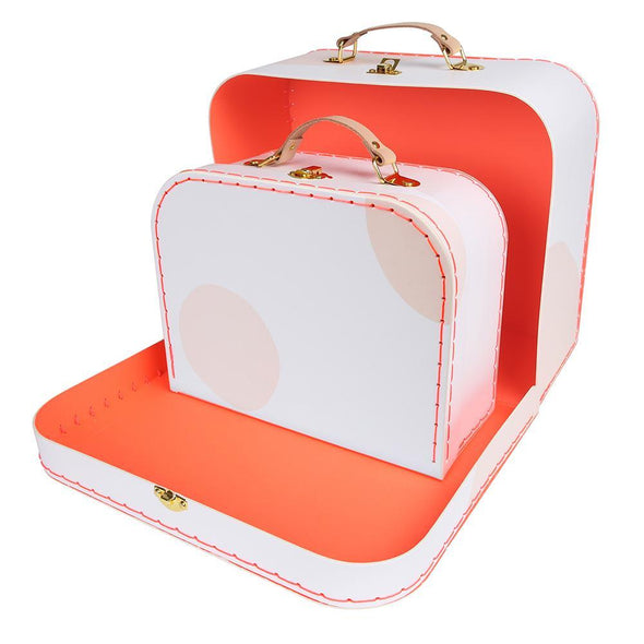 Pink Suitcase Set of 2 - Retro Kids