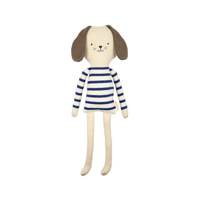 Buster the Dog Knitted Toy - Retro Kids
