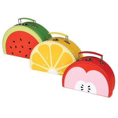 Set of 3 Fun Fruity Cases - Retro Kids