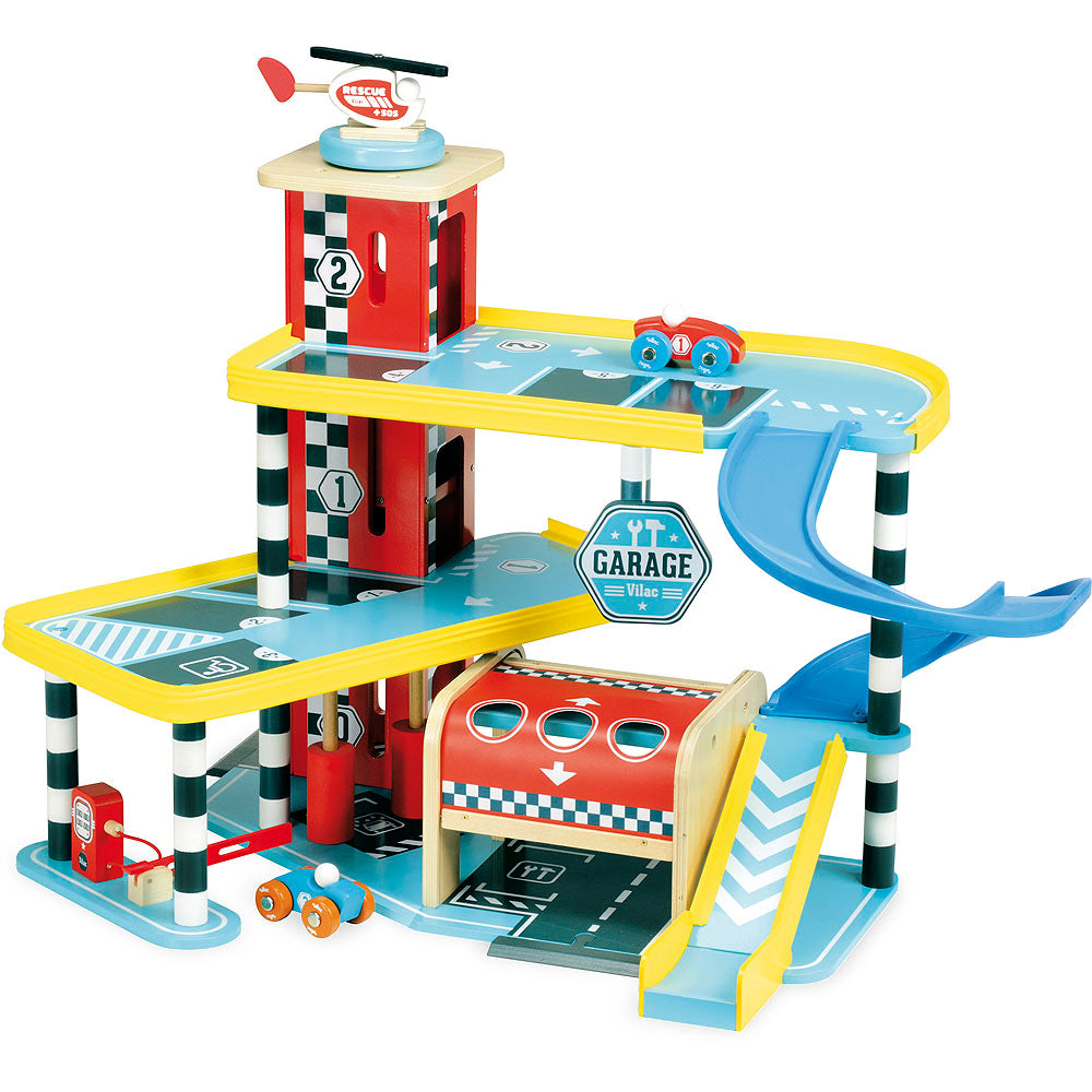 Vilacity Garage Set - Retro Kids