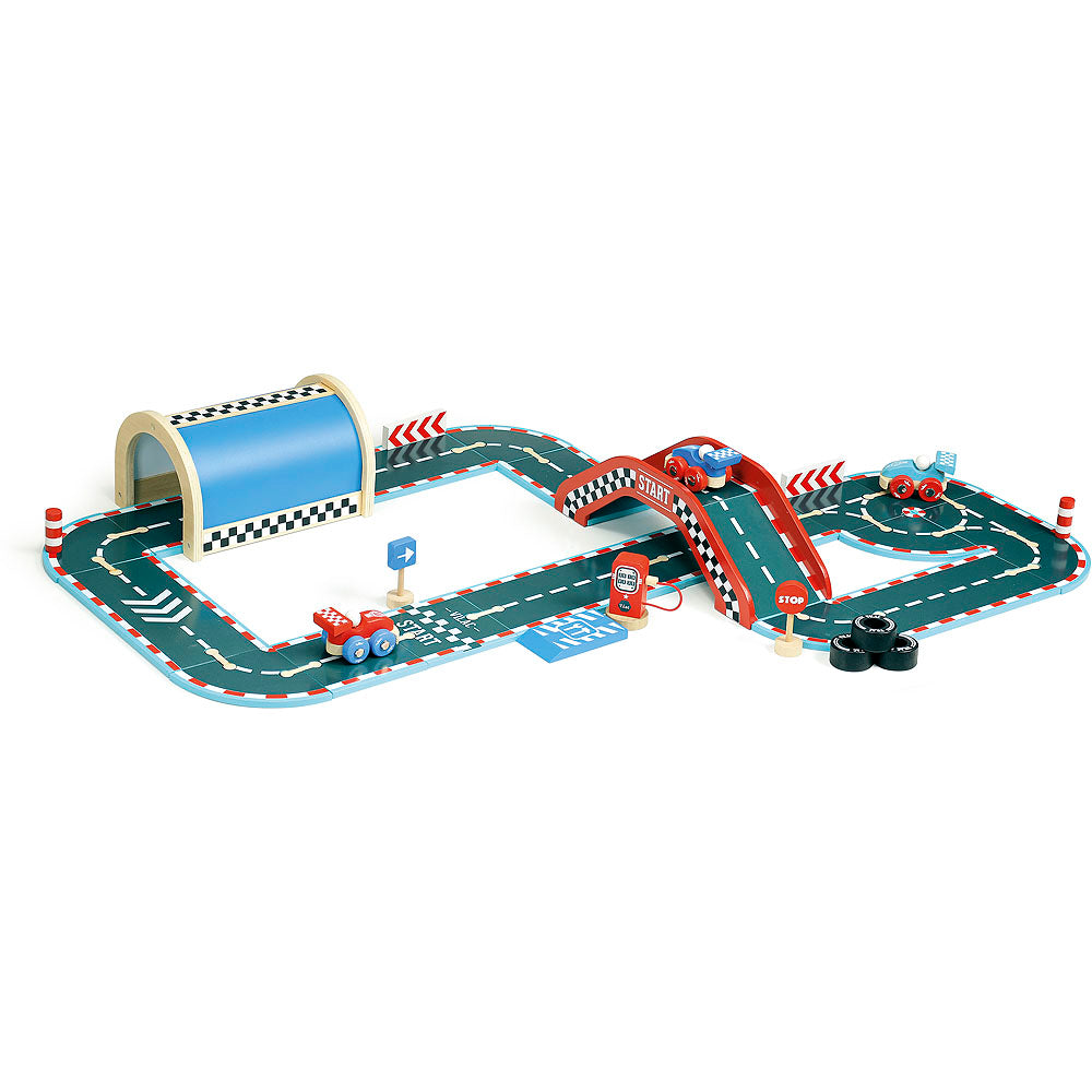 Vilacity Race Track Set - Retro Kids