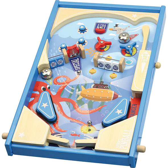 Under the Sea Wooden Pinball Game