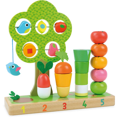 Learn To Count Vegetable Set - Retro Kids