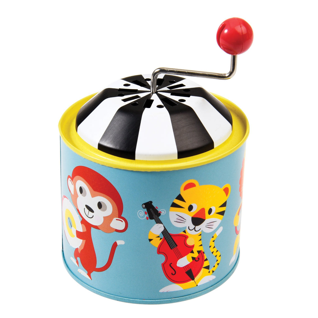 Animal Park Mini Music Box - Retro Kids