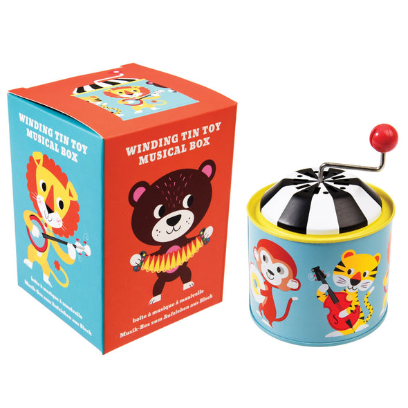 Animal Park Mini Music Box