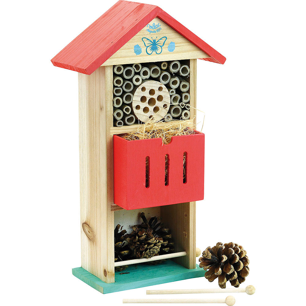 Wooden Bug Hotel - Retro Kids