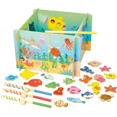 Magnetic Ocean Fishing Game