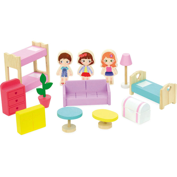 Doll House in Suitcase