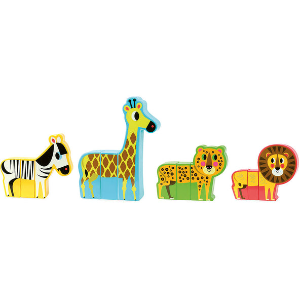 Magnetic Jungle Animal Set