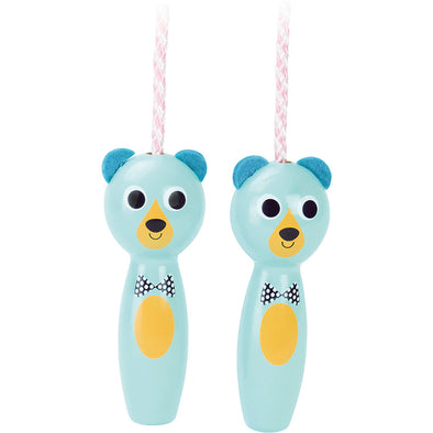 Bear Skipping Rope - Retro Kids
