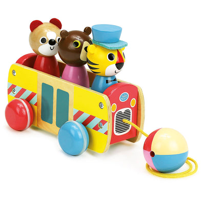 Bus Pull Along Toy