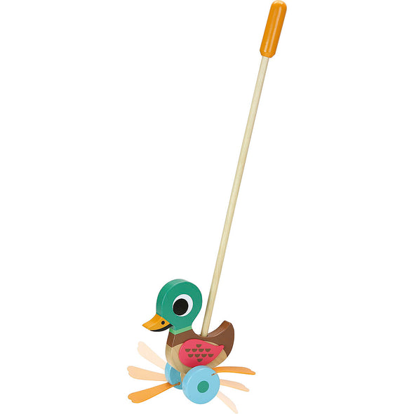 Duck Push Along Toy