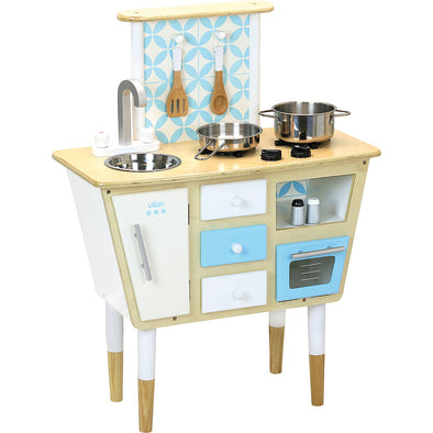 Vintage Kitchen Play Set - Retro Kids