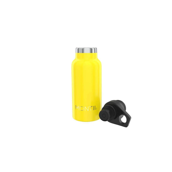 Insulated Water Bottle in Yellow