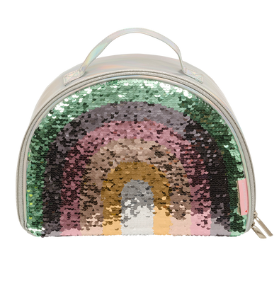 Rainbow Sequin Lunch Bag