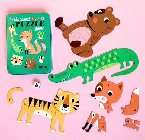 Animal Puzzle Game - Ingela P Arrhenius