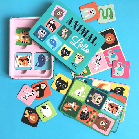 Animal Lotto Game - Ingela P Arrhenius