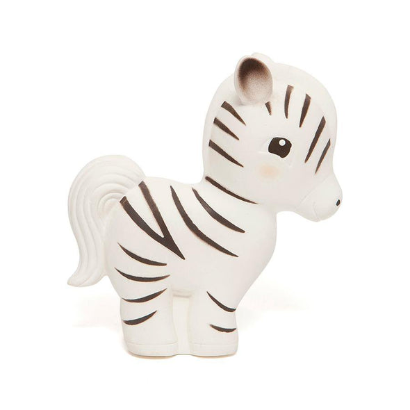 Zippy the Zebra Rubber Teether Toy - Retro Kids