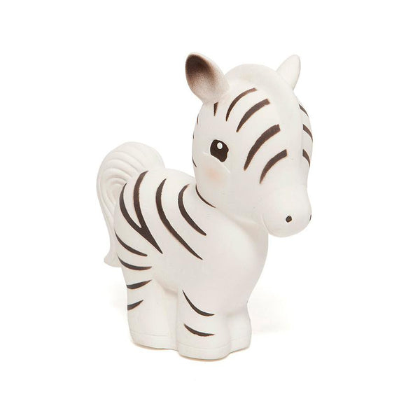Zippy the Zebra Rubber Teether Toy