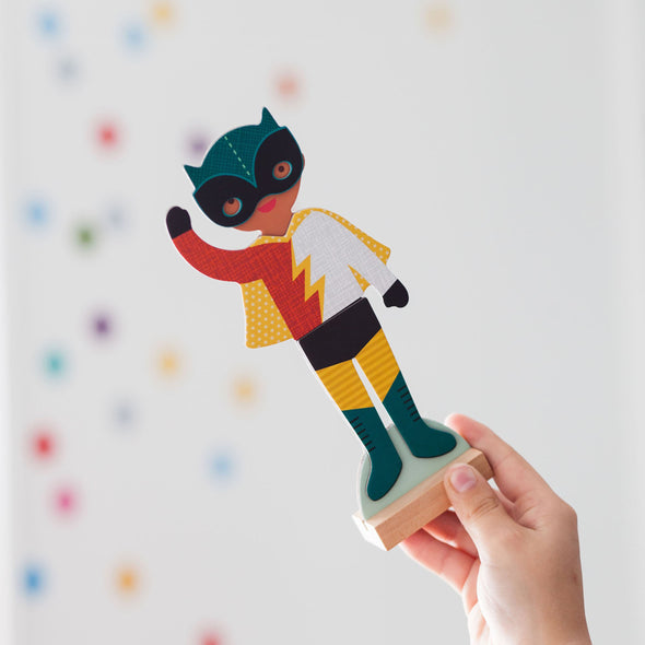 Magnetic Superhero Dress Up Set