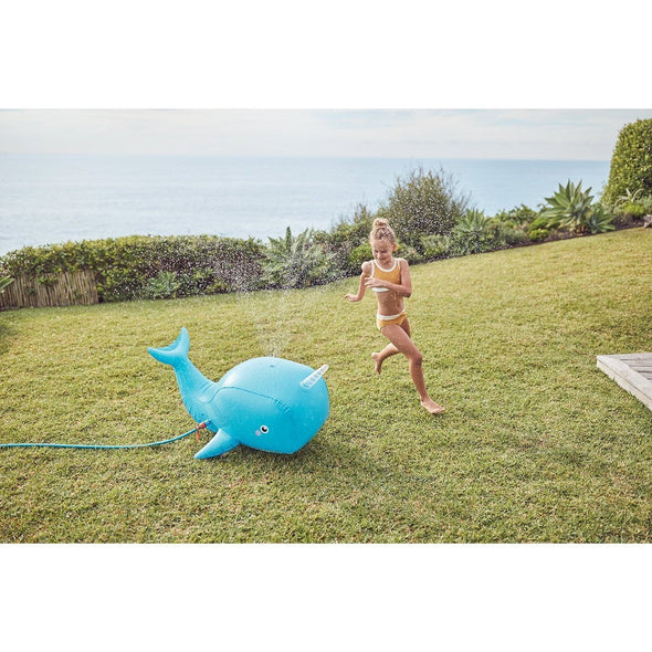 Inflatable Narwhal Sprinkler