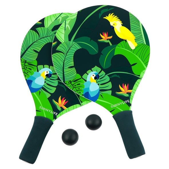 Tropical Print Outdoor Bat & Ball Set - Retro Kids
