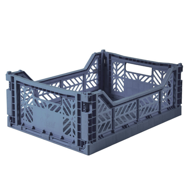 Folding Crate in Cobalt Blue