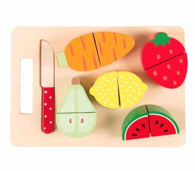 Fruit and Veg Chopping Board Playset