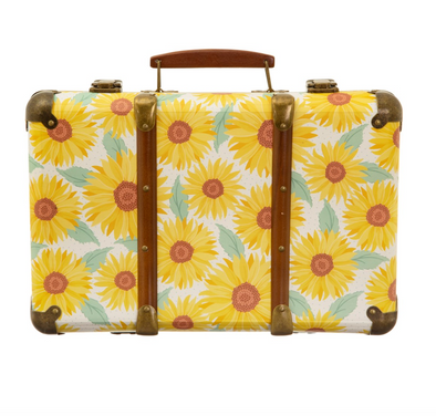Sunflower Storage Suitcase