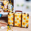 Sunflower Storage Suitcase - Retro Kids