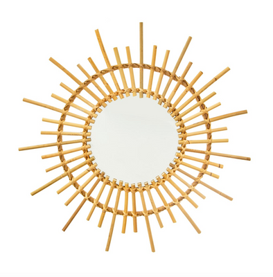 Rattan Starburst Mirror - Retro Kids