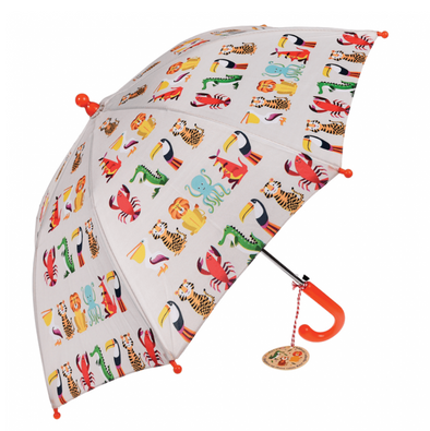 Colourful Creatures Kids Umbrella