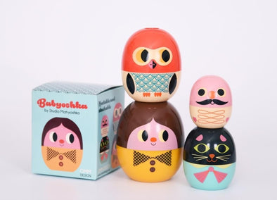 Babyoshka Nesting Dolls Person Set - Ingela P Arrhenius