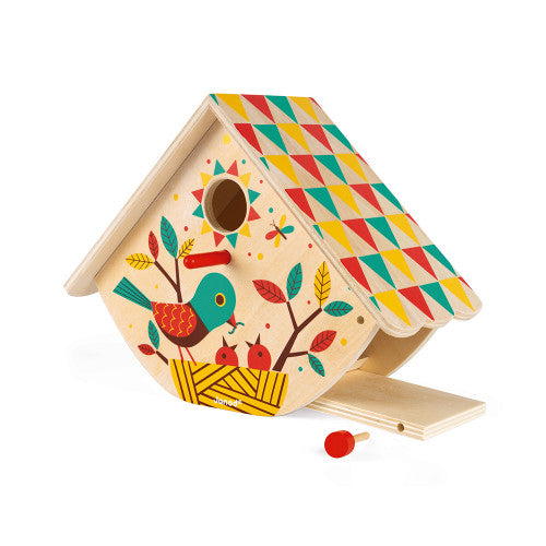 My First Wooden Bird House
