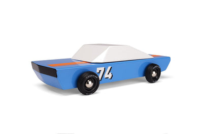 Blue Racer Wooden Car Toy