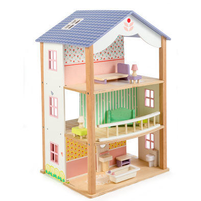Bluebird Villa Wooden Dolls House