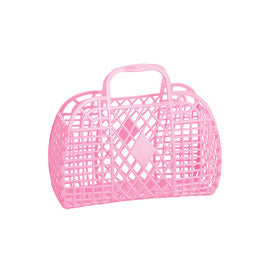 Nostalgic Jelly Bag Bubblegum Pink