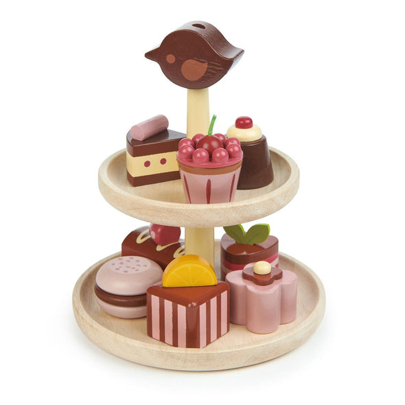 Chocolate Bonbons Wooden Toy Set - Retro Kids