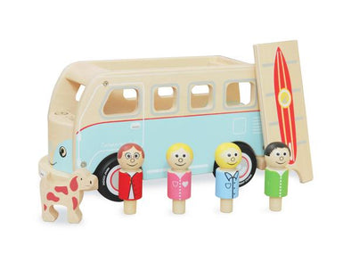Colin the Campervan Retro Wooden Toy - Retro Kids