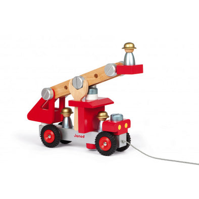 DIY Wooden Fire Engine