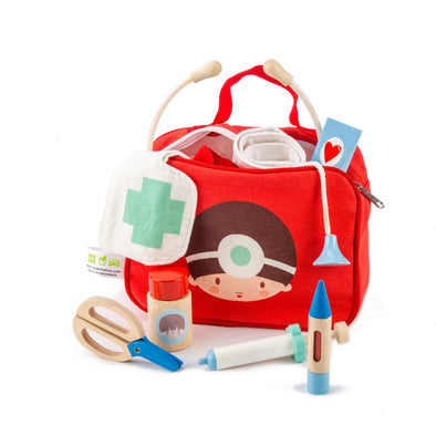 Red Doctors & Nurses Medical Play Set