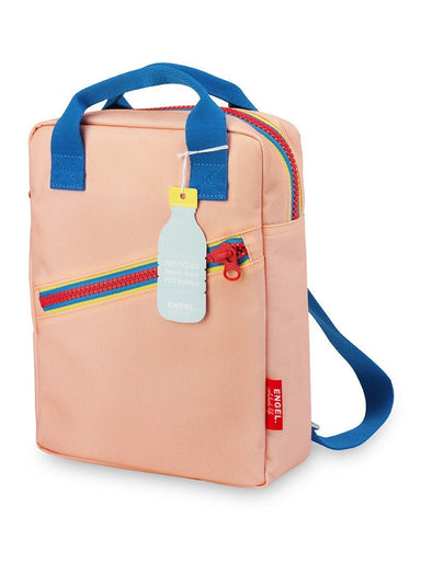 Pink Zipper Backpack