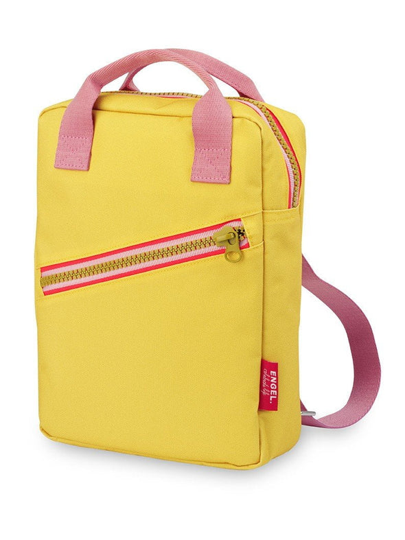 Yellow Zipper Backpack