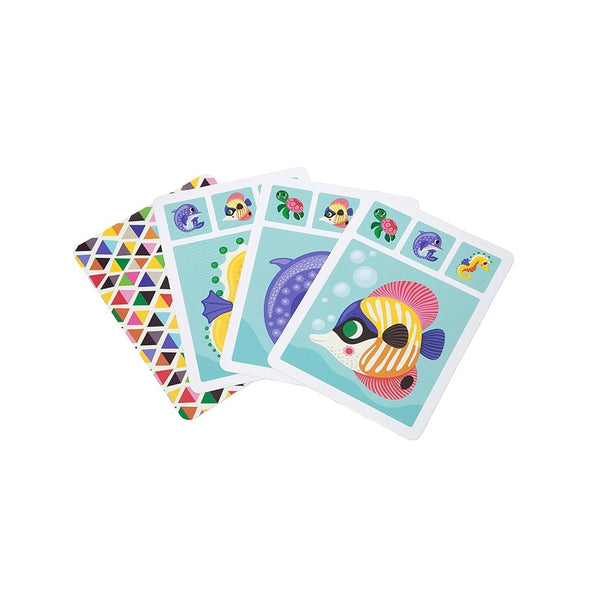 Family Card Game - Retro Kids