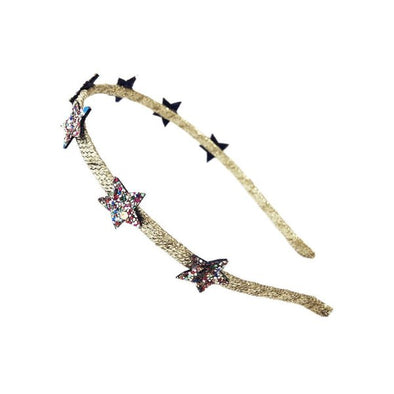 Retro Glitter Star Hairband