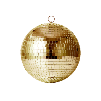 Gold Disco Ball 20cm
