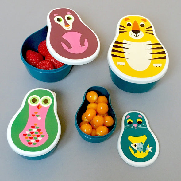Animal snack box set - Retro Kids