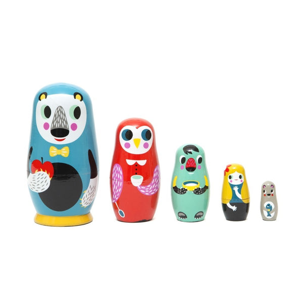 In the Woods Nesting Dolls