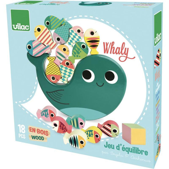 Whaly Balance Game - Retro Kids